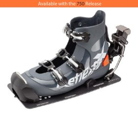 SuperShell 3.0 Water Ski Binding with 750 Release