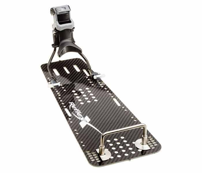 Carbon Rear Slalom Plate for Sizes 4-10