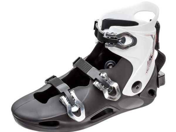 Reflex Slalom White Cuff Hardshell Binding