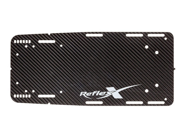 Reflex Blank Carbon Long Front Plate Size 12