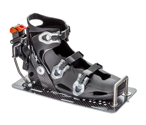 Reflex Slalom Binding Carbon U on Carbon Plate