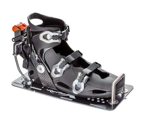 Reflex Slalom Binding Carbon U on G10 Plate